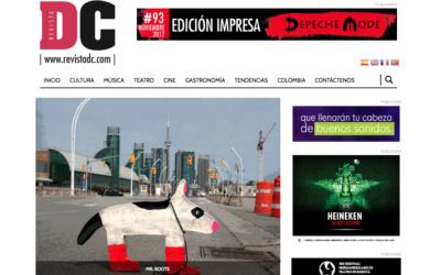 El colectivo Abstractus trae 'El diario de Mr. Boots' a Bogotá. Revistadc.com