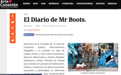 El Diario de Mr Boots, Arteyconexion.com