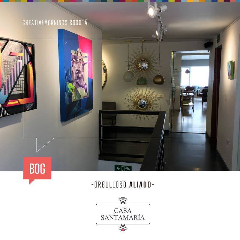 Creative mornings en casa santamar a casa santamar a for Santa maria jewelry company
