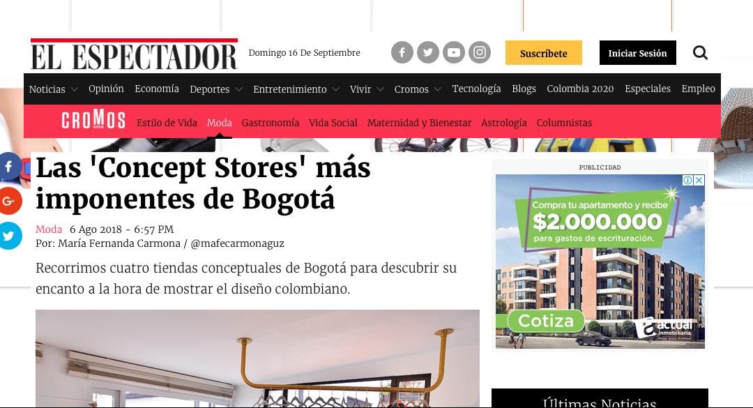 Las 'Concept Stores' más imponentes de Bogotá-elespectador.com