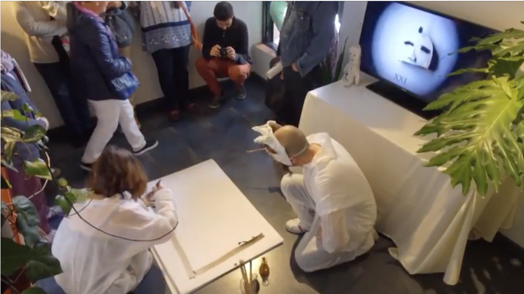 Drawing Performance, Abstractus