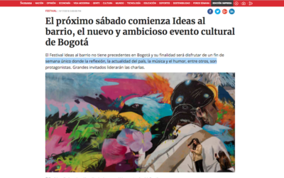 Evento: Ideas al Barrio 2018, www.semana.com